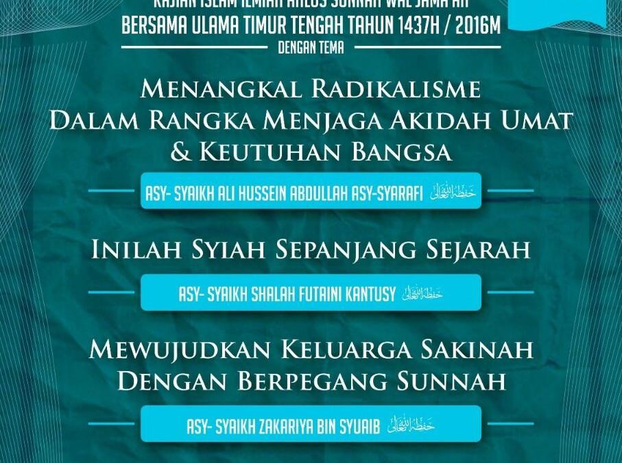 Safari Dakwah Asy-Syariah ke-12 di Kota Jakarta