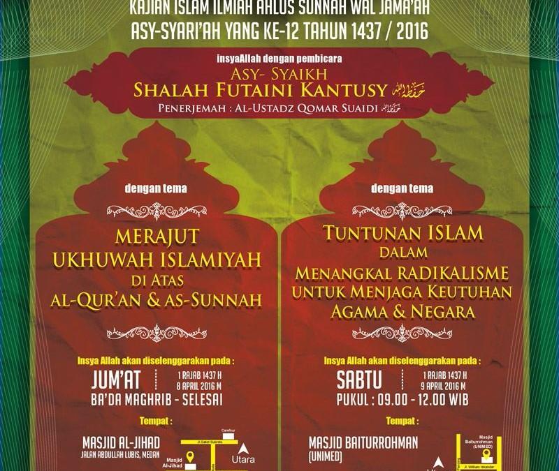 Safari Dakwah Asy-Syariah ke-12 di Kota Medan Sumatera Utara