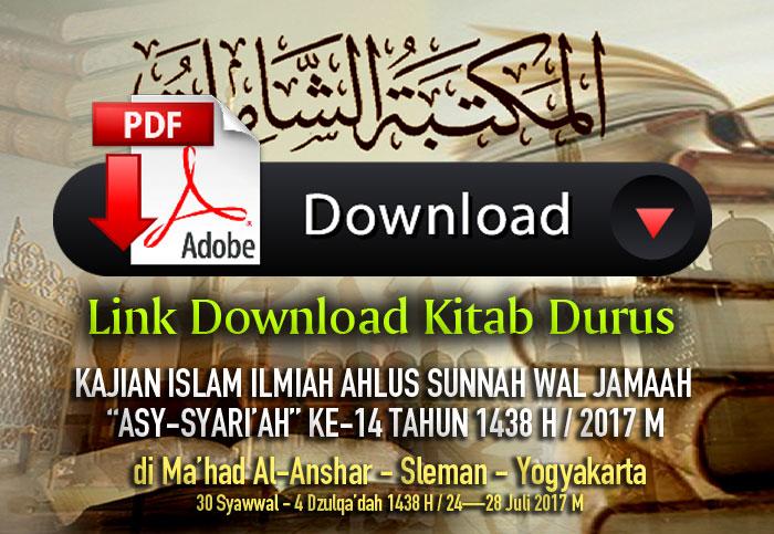 Link Download Kitab Durus Daurah Asy-Sya'riah Ke – 14 di Indonesia